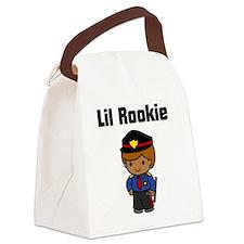 rookie cop Canvas Lunch Bag