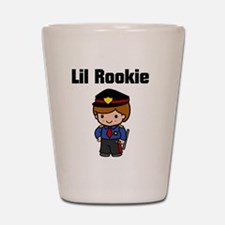 rookie cop 2 Shot Glass