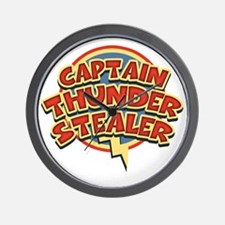 thunderstealer-T Wall Clock