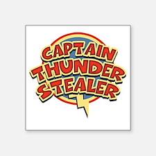 """thunderstealer-T Square Sticker 3"""" x 3"""""""