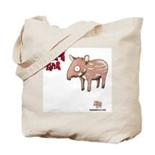 Senor Tapir white Tote Bag