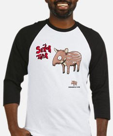 Senor Tapir white Baseball Jersey