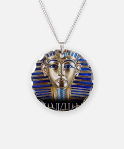 tut painting long Necklace