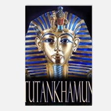 tut painting long Postcards (Package of 8)
