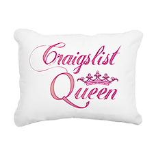 cl queen pink Rectangular Canvas Pillow