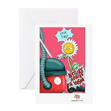 Nature Abhors a Vacuum Greeting Card