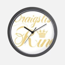 cl king gold Wall Clock