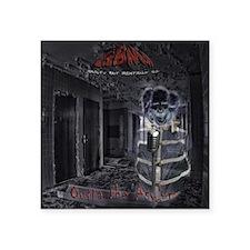 "GBMI - Outta the Asylum CD  Square Sticker 3"" x 3"""