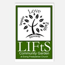 LIFtS CommunityGarden Postcards (Package of 8)