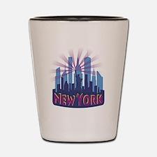 NYC Newwave7 cool Shot Glass