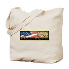 As American As Apple Pie Tote Bag