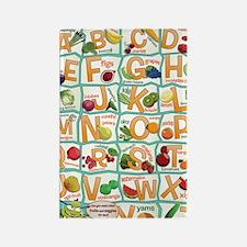 Poster-Alphabet_4600x7000 Rectangle Magnet