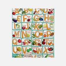Poster-Alphabet_4600x7000 Throw Blanket