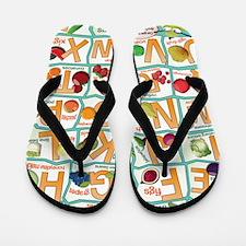Poster-Alphabet_4600x7000 Flip Flops