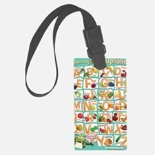 Poster-Alphabet_4600x7000 Luggage Tag
