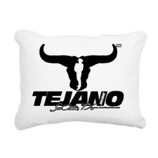 sanantonioblack Rectangular Canvas Pillow