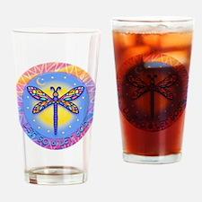 LGLG-Butterfly (purp) Drinking Glass
