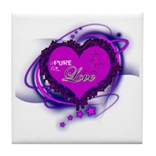 Pure Love Complete Tile Coaster