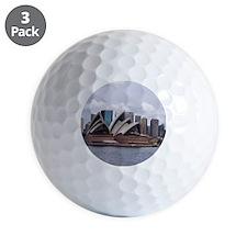 Cafe Press Opera House 2 Golf Ball