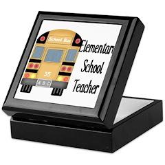 Elementary School Teacher Keepsake Box