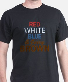 RWBluBrown2 T-Shirt
