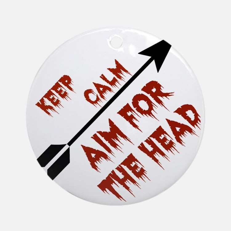 Aim head Round Ornament