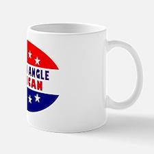 OvalStickerSharronAngleAmerican Mug