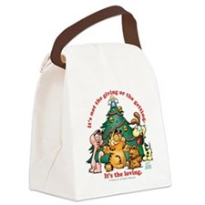 It's The Loving Canvas Lunch Bag