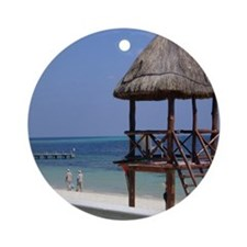 5-Mexico-for-Mousepad Round Ornament