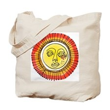Two Sun Tote Bag