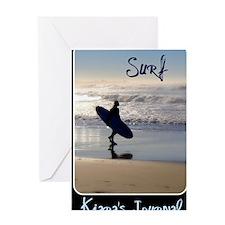 Kiaras Journal Greeting Card