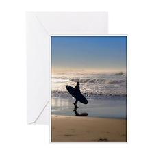 Monterey Surf Greeting Card
