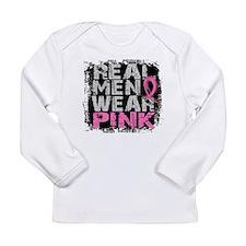 Real Men Wear Pink 1 Long Sleeve T-Shirt
