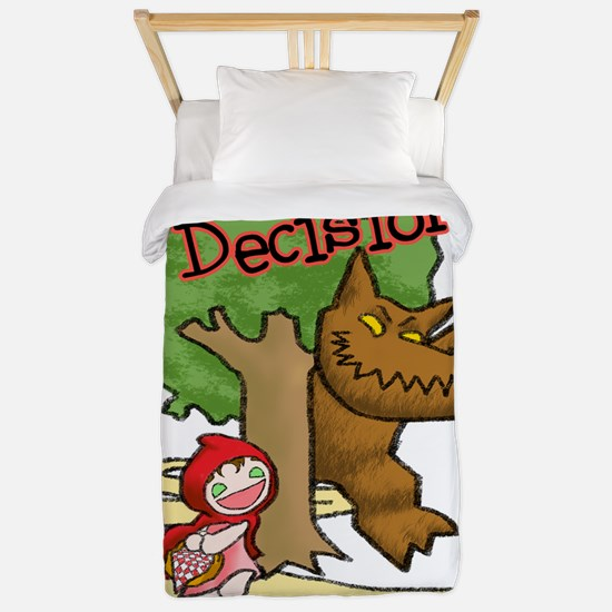 Red Riding Hood Twin Duvet