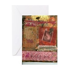 Soulful Retreat Journal Pages0001 Greeting Card