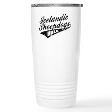 Icelandic-Sheepdogs-Rule-Ballpa Thermos Mug