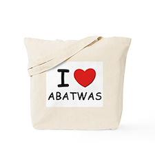 I love abatwas Tote Bag