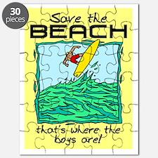 SAVE THE BEACH-BOYS Puzzle