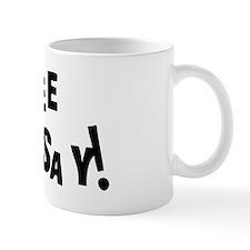 free lindsay black Mug