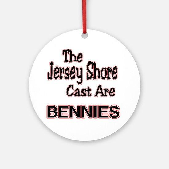 jersey shore cast Round Ornament