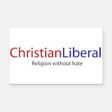 Unique Religious tolerance Rectangle Car Magnet