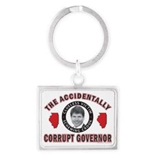Accidentally-Corrupt-2 Landscape Keychain