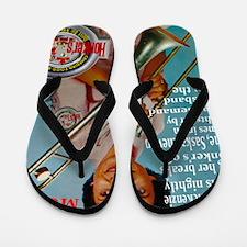 Honkers Poster Flip Flops