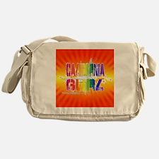 calgurl3 Messenger Bag