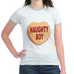 Naughty Boy Valentine Heart T