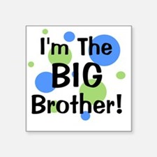 "imthebigbrother_greenblueci Square Sticker 3"" x 3"""