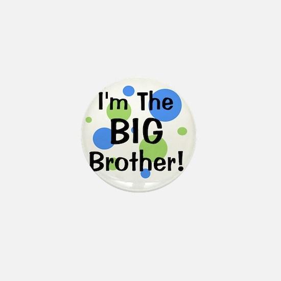imthebigbrother_greenbluecircles Mini Button