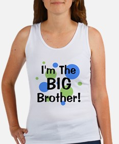 imthebigbrother_greenbluecircles Women's Tank Top