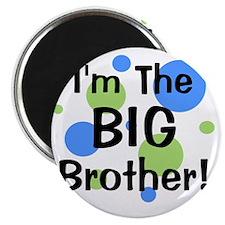 imthebigbrother_greenbluecircles Magnet