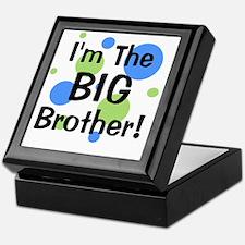 imthebigbrother_greenbluecircles Keepsake Box